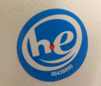 High Efficiency laundry logo