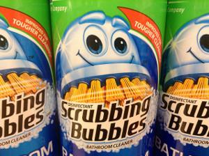 Scrubbing Bubbles cleaner