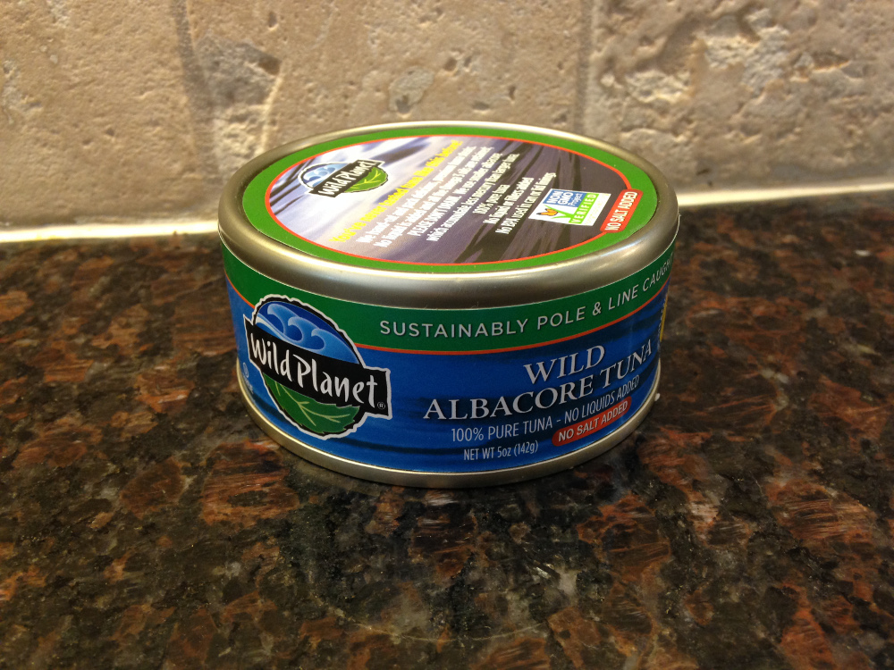 Wild Planet Foods tuna can