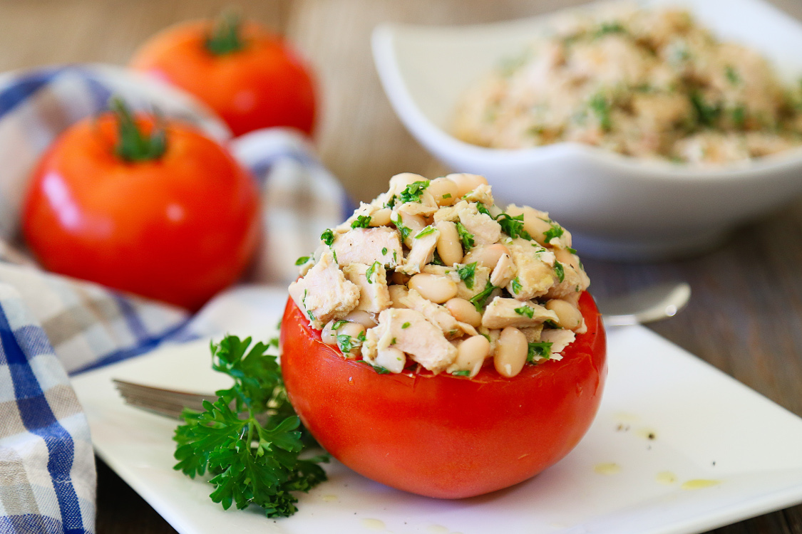 Wild Planet tuna white bean salad