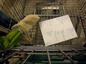 Keeping a list for shopping and for keeping tabs on when fresh food needs to be cooked cuts down waste | image: Bruce Turner/Flickr