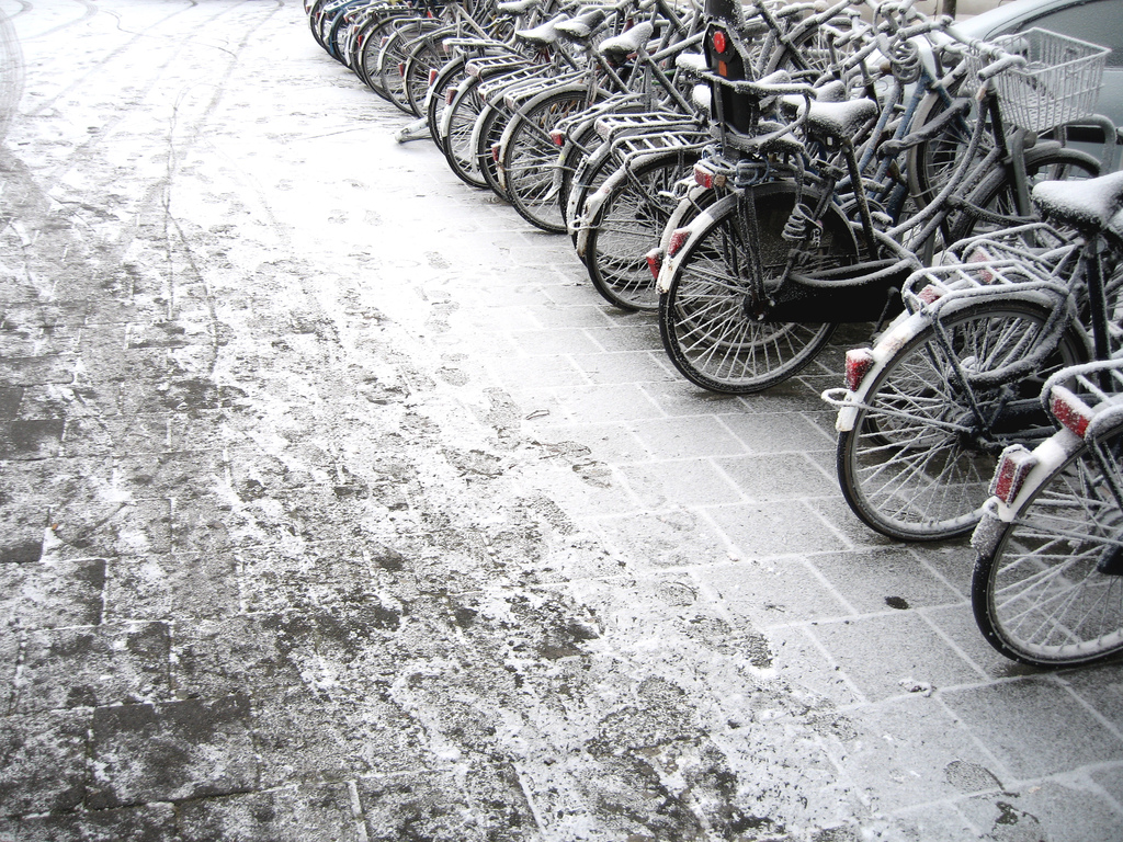 Iced Sidewalk